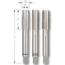 Комплект ручных метчиков DIN 352 HSS M3 x0,5 мм